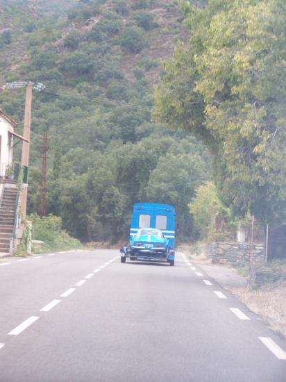 arrivée en Corse