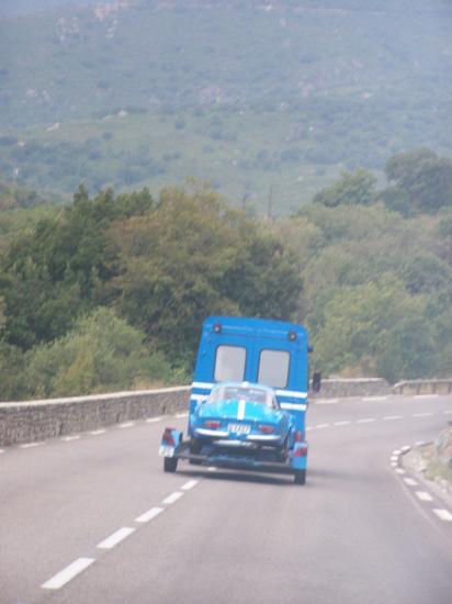 Arrivée en Corse Lundi