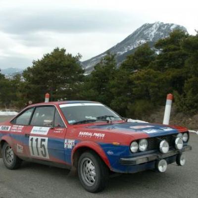 Rallye Montecarlo Historique 2008 et 2009