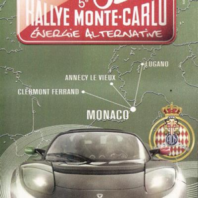 Rallye Monte-Carlo Energie Alternative 2011